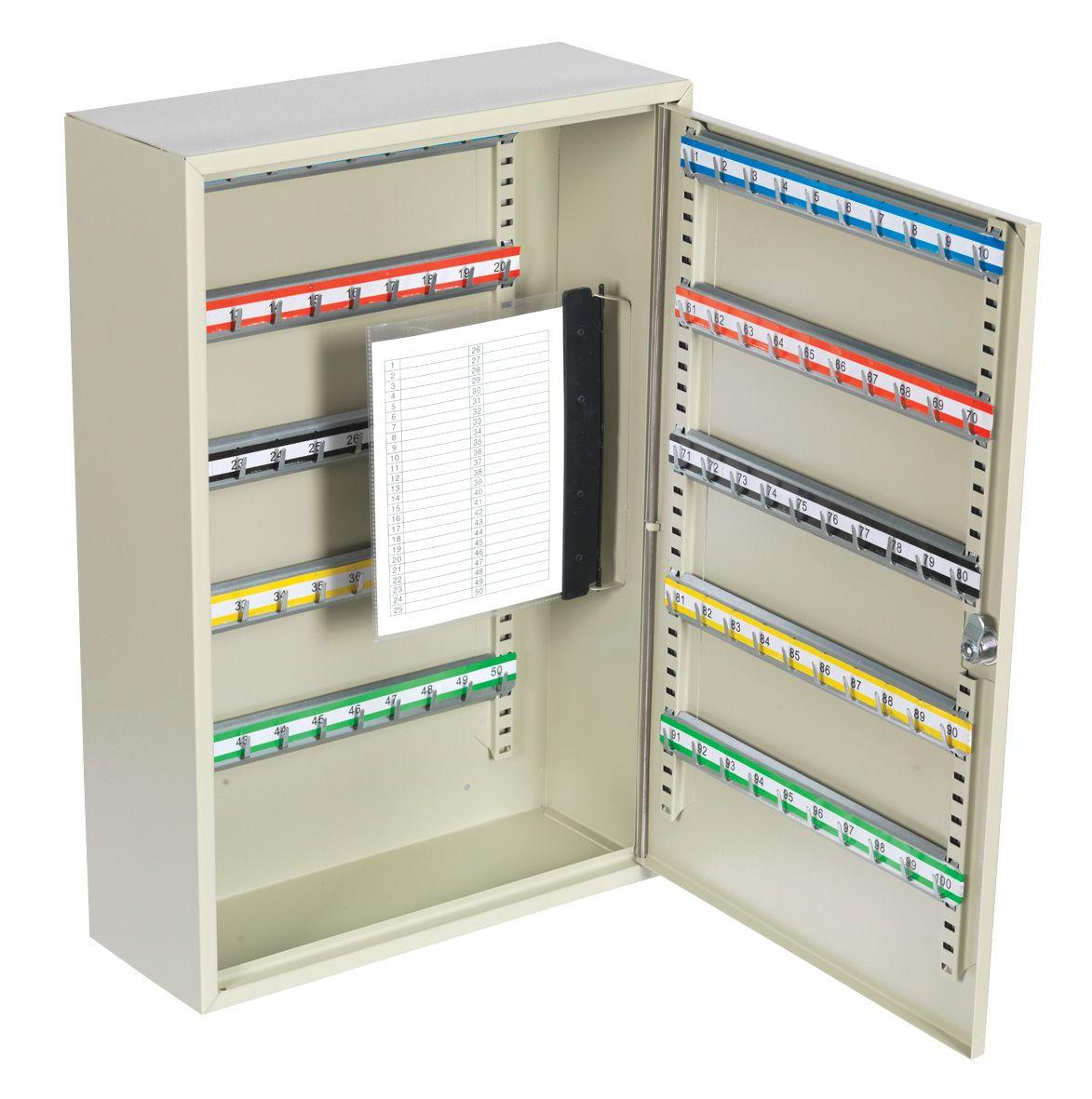 Sealey Key Cabinet 100 Key Capacity Deep