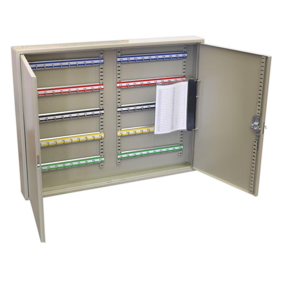 Sealey Key Cabinet 100 Key Capacity Wide