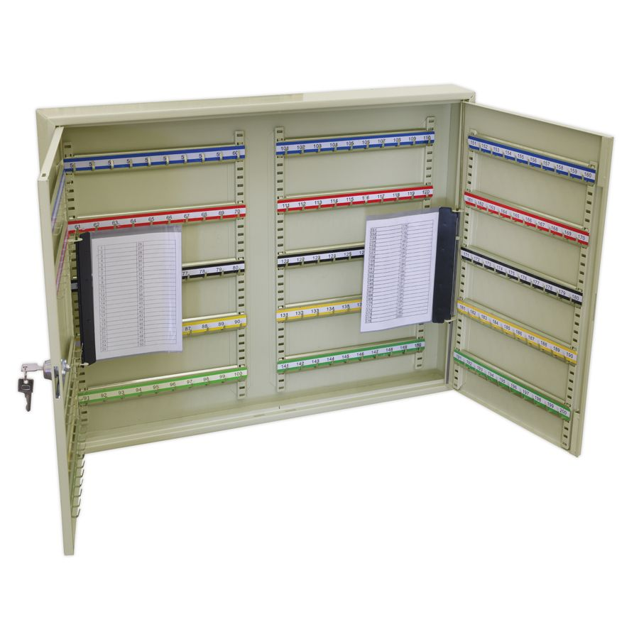 Sealey Key Cabinet 200 Key Capacity Wide