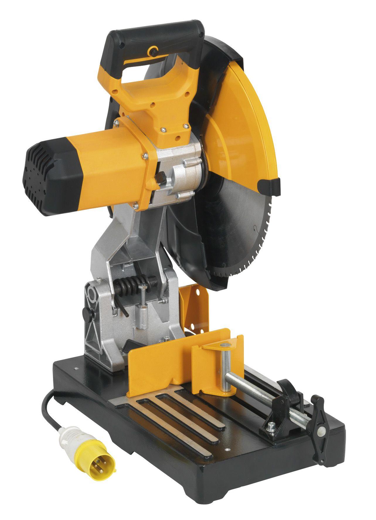 Sealey Cut-Off Machine Ø355mm 110V with Blade