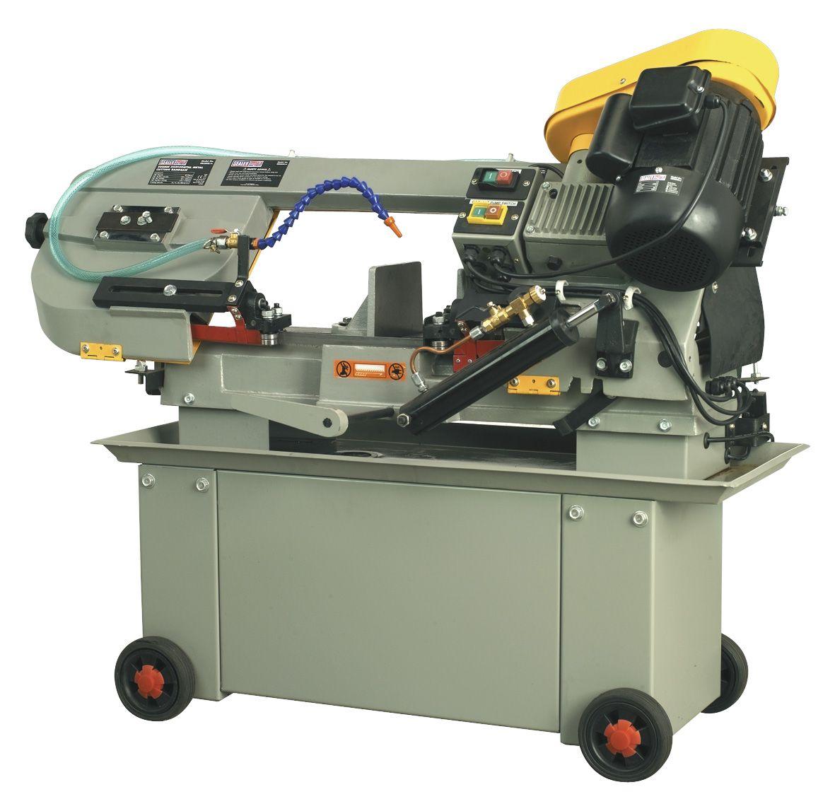 Sealey Bandsaw 300mm Horizontal Hydraulic Arm