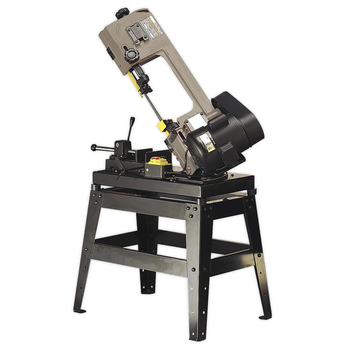 Sealey Metal Cutting Bandsaw 150mm 230V with Mitre & Quick Lock Vice