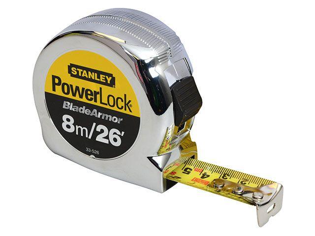 Stanley Tools Powerlock Rule Blade Armor Metric / Imperial