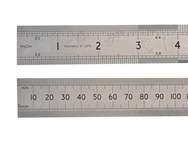 Stanley Tools 64SR Chrome Rule 1 Metre / 39in