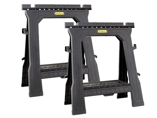 Stanley Tools Folding Saw Horse Twin Pack