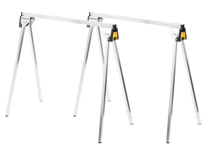Stanley Tools Essential Metal Sawhorses (Twin Pack)