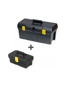 Stanley Tools Tool Box 19in + 12 1/2in Toolbox