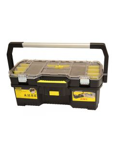 Stanley Tools Tool Box With Tote Tray Organiser 61cm (24 in)