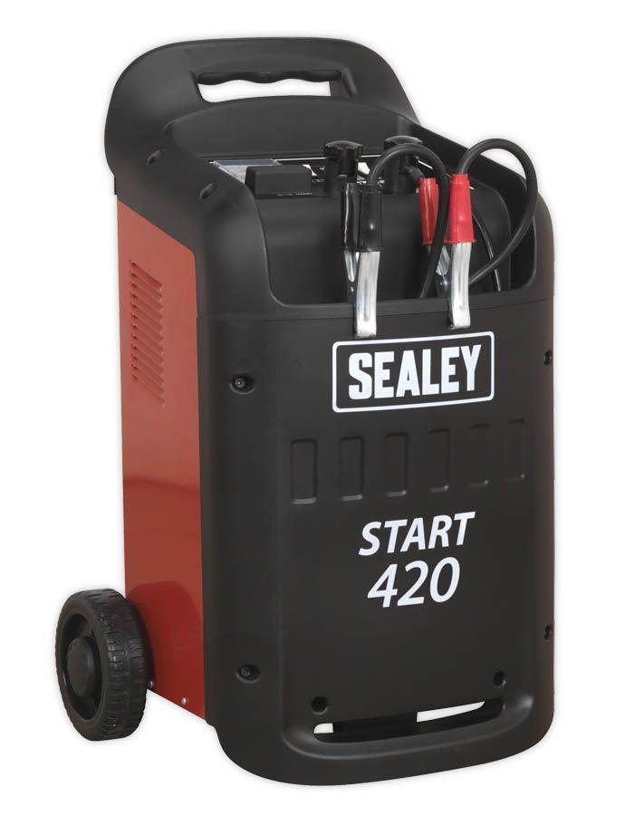 Sealey Starter/Charger 420/60Amp 12/24V 230V