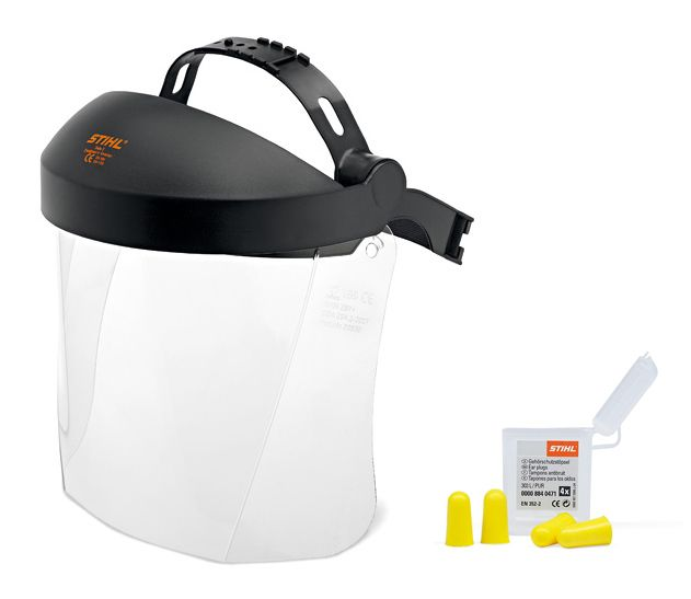 Stihl Face Protection With Plastic Visor
