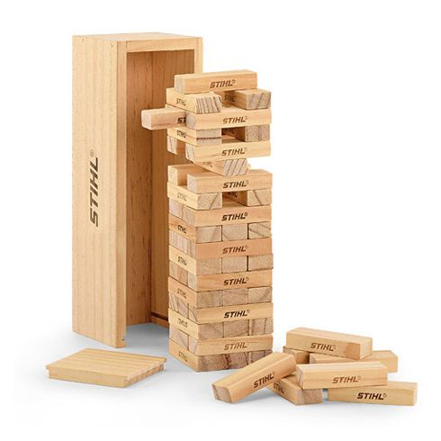 Stihl Wooden Stacking Tower Game