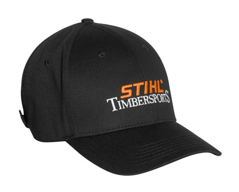 Stihl Timbersports Baseball Cap Black