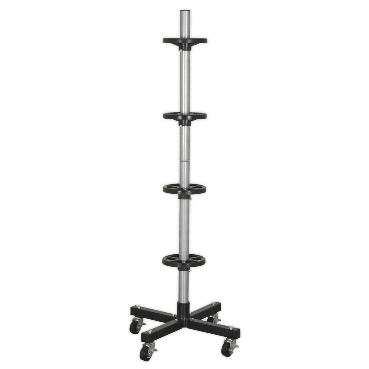 Sealey Wheel Storage Trolley 100kg Capacity