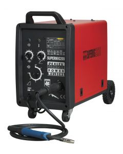 Sealey Supermig Professional MIG Welder 200Amp 230V with Binzel Euro Torch