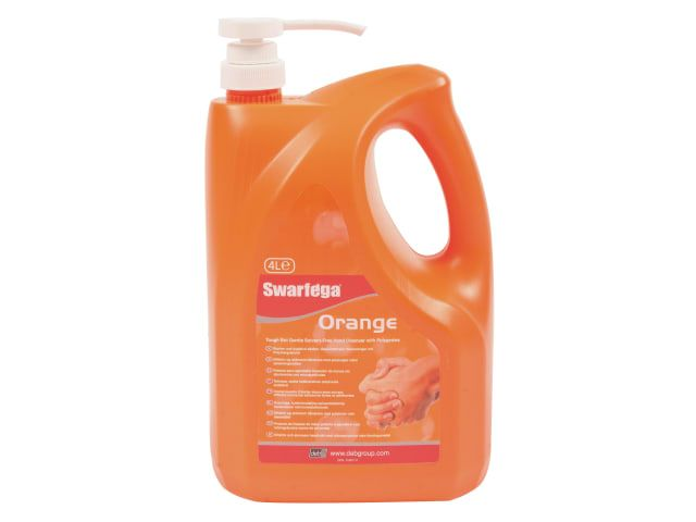 DEB Swarfega Orange 4 litre Pump