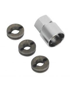 Sealey Reverse Action Wheel Stud Thread Restorer Kit