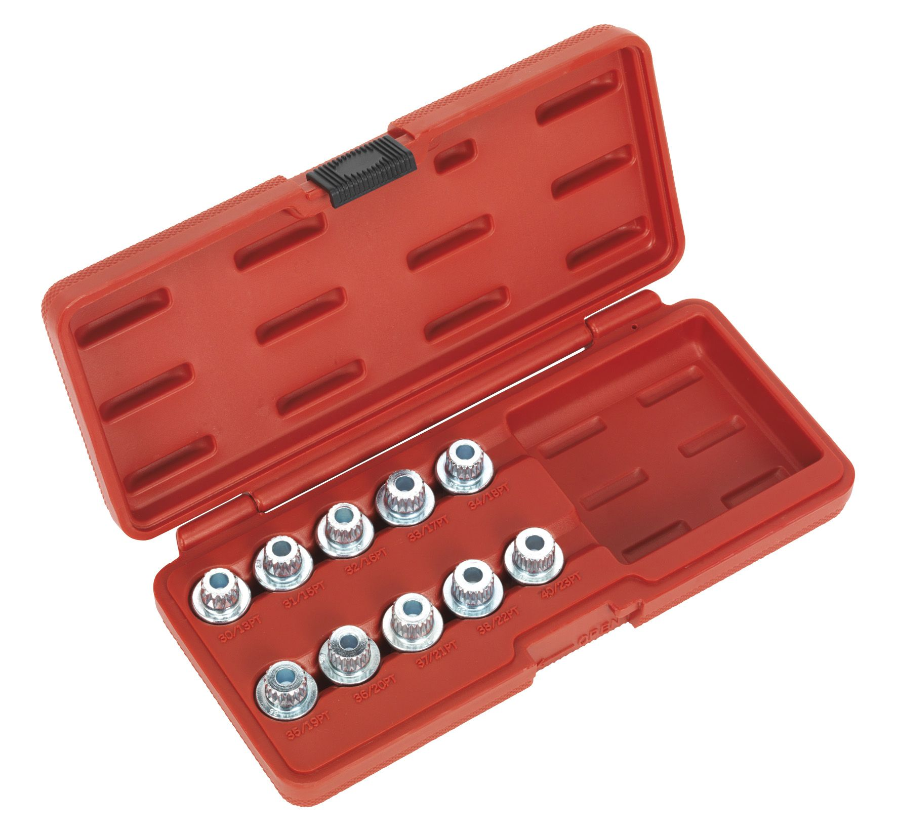 Sealey Locking Wheel Nut Key Set 10pc - BMW & Mini