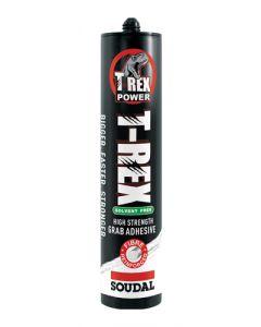 Soudal T-Rex Solvent Free Adhesive White 310ml