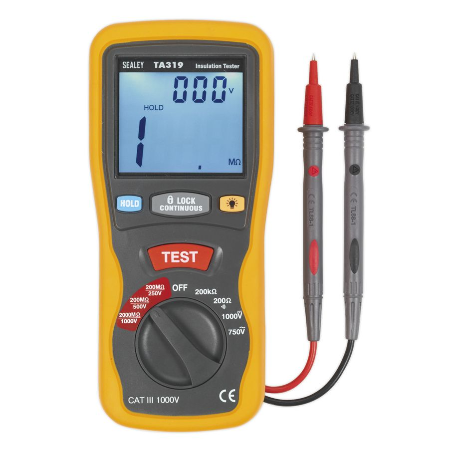 Sealey Digital Insulation Tester