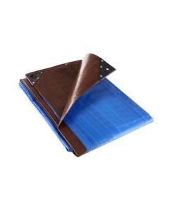 Tarpaflex 185gsm Blue Brown Tarpaulins