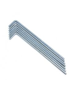 Tarpaflex Steel Pegs 4mm x 175mm 10pk