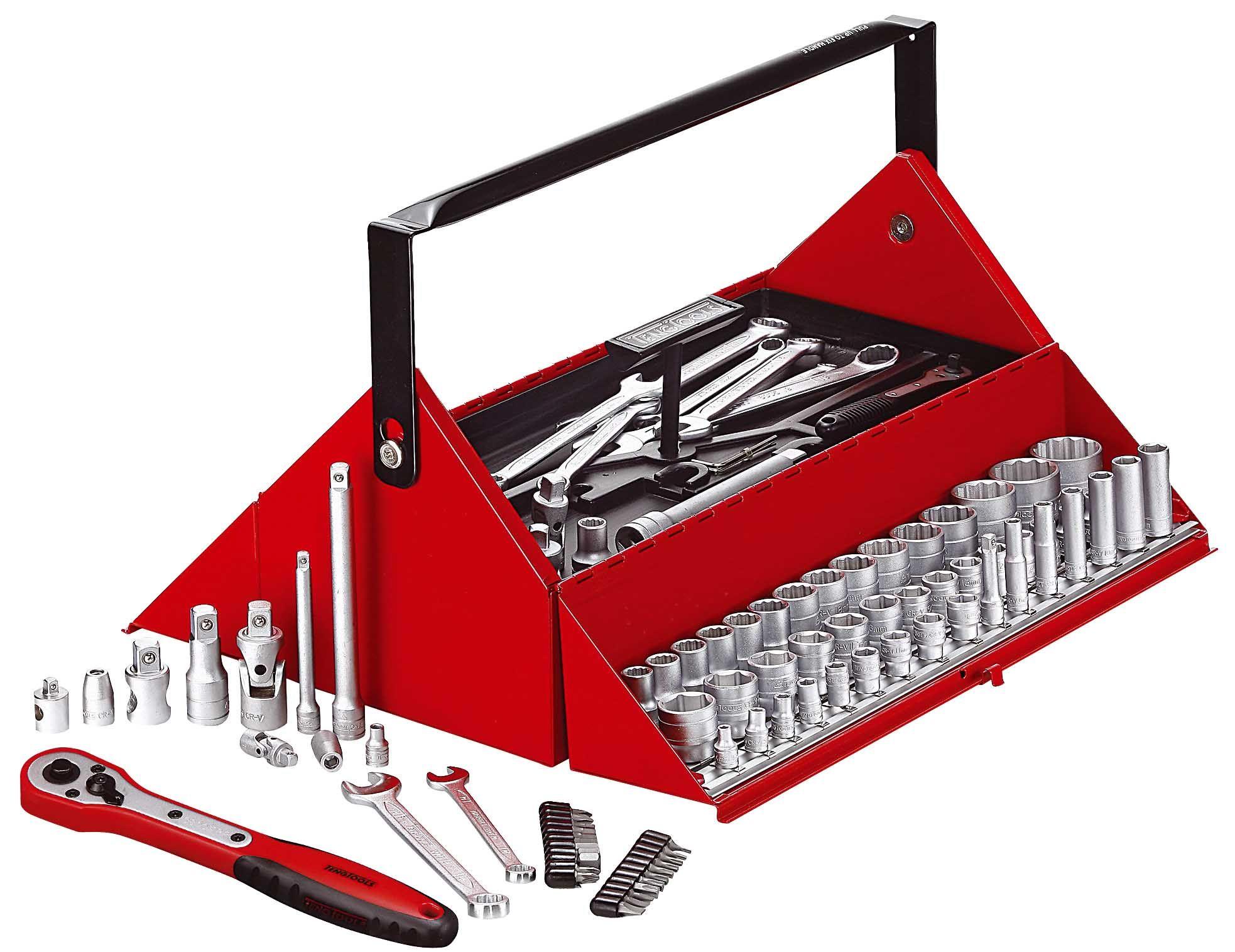 Teng Tools 187 Piece Mechanics Tool Kit TC187