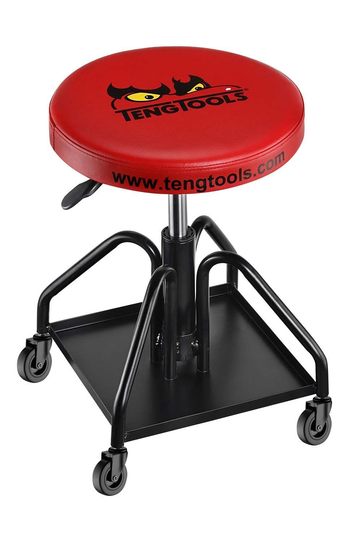 Teng Tools Mechanics Stool With Wheels