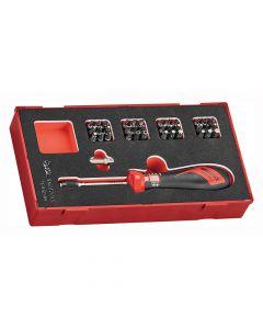 Teng Tools EVA 1-5Nm Torque Screwdriver Set 38 Piece