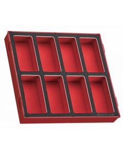 Teng Tools EVA 8 Compartment Empty Storage Tray