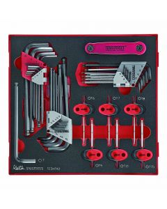 Teng Tools 42 Piece Hex & TX Key Set