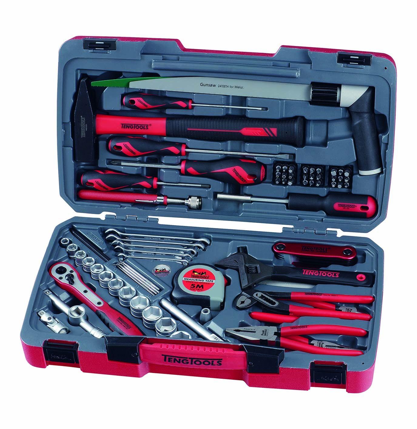 "Teng Tools 79 Piece 3/8"" Drive Engineers Tool Set"
