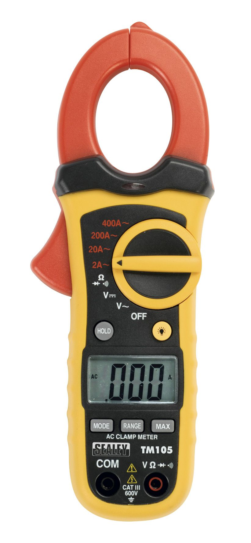 Sealey Professional Auto-Ranging Digital Clamp Meter NCVD - 6 Function