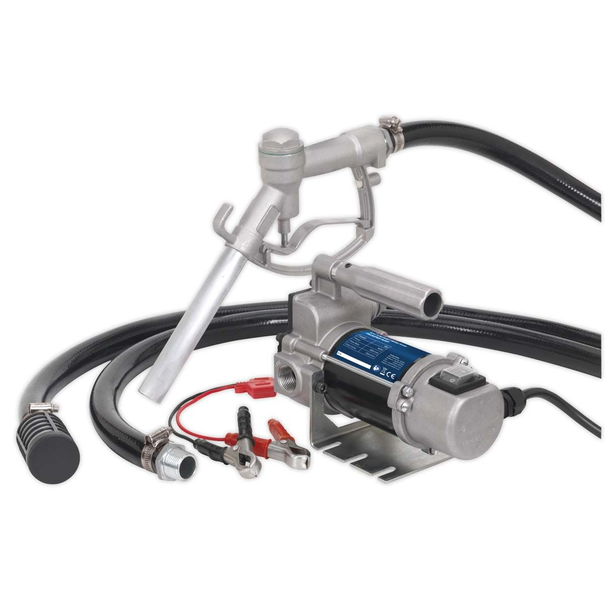 Sealey Diesel/Fluid Transfer Pump Portable 12V