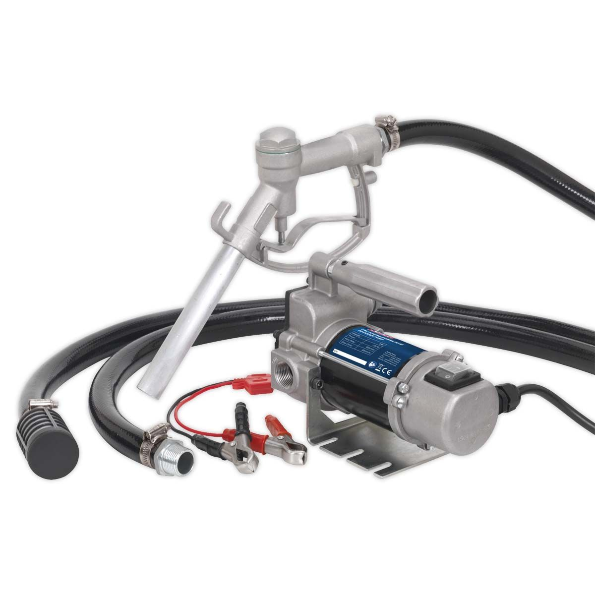 Sealey Diesel/Fluid Transfer Pump Portable 24V