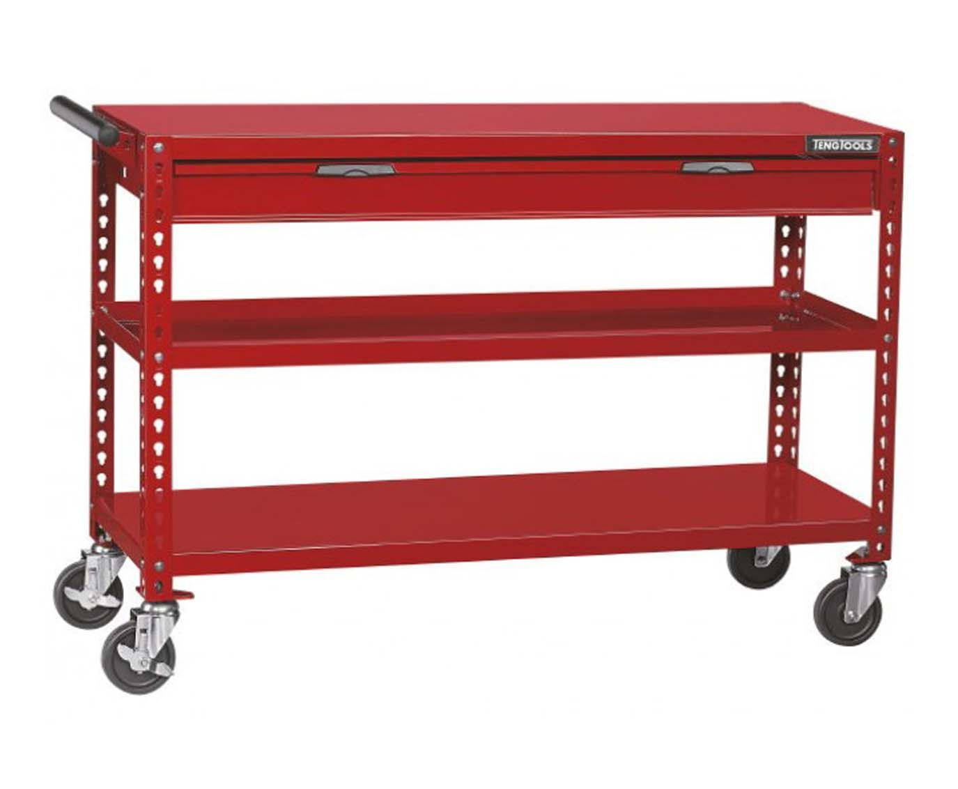 Teng Tools 1339mm Wide Mobile Work Trolley
