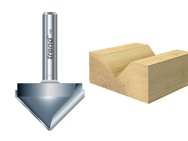 Trend 11/ Chamfer V Groove Cutters