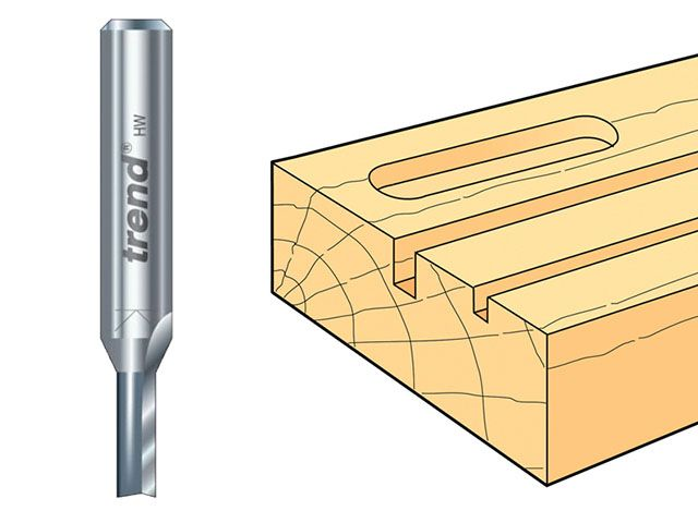 Trend 1/4in Two Flute Cutters TCT