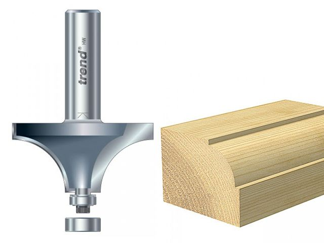 Trend 46/ Bearing Guided Ovolo & Round Over Cutters