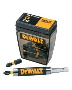 Dewalt PZ2 Impact Bits & Holder 25 Pack