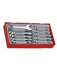 Teng Tools 10 Piece Midget Combination Spanner Set