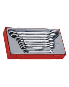 Teng Tools 8 Piece Ratcheting Spanner Set