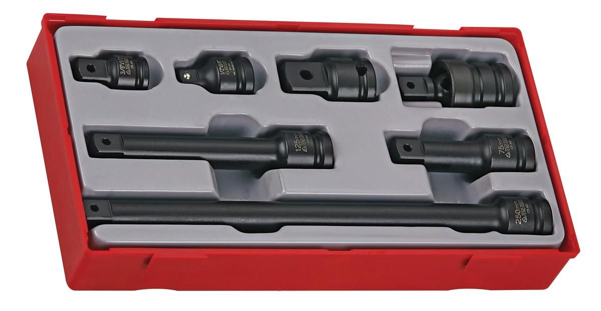 "Teng Tools 7 Piece 1/2"" Drive Impact Socket Set"