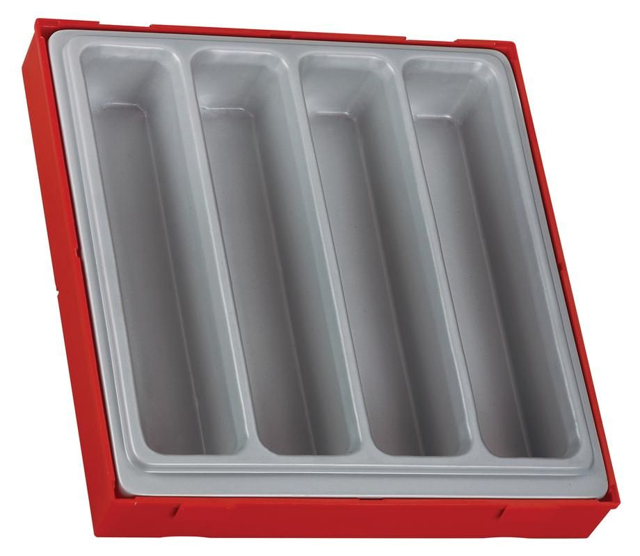 Teng Tools 4 Compartment Double Storage Tray