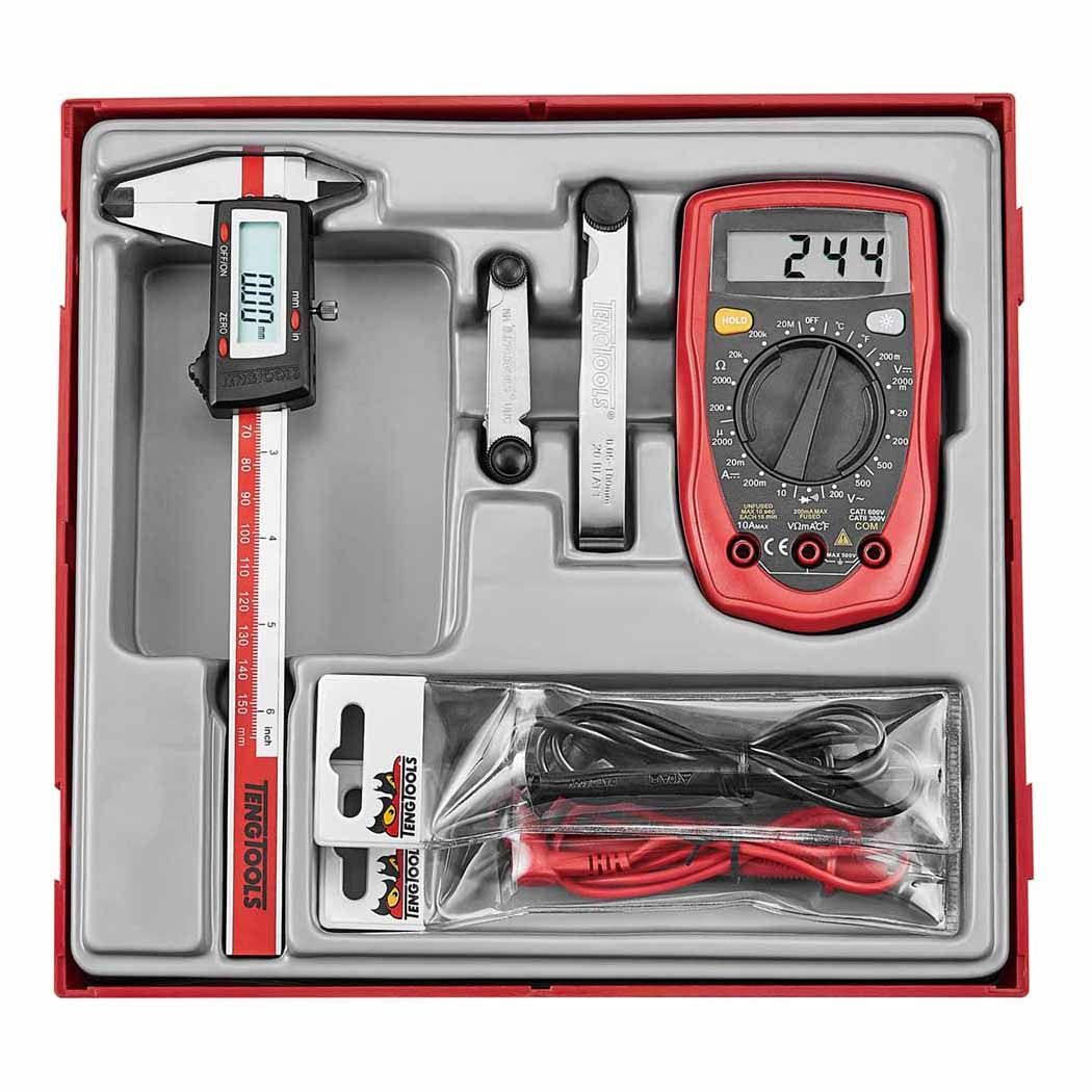 Teng Tools Measuring Set A 4 Piece