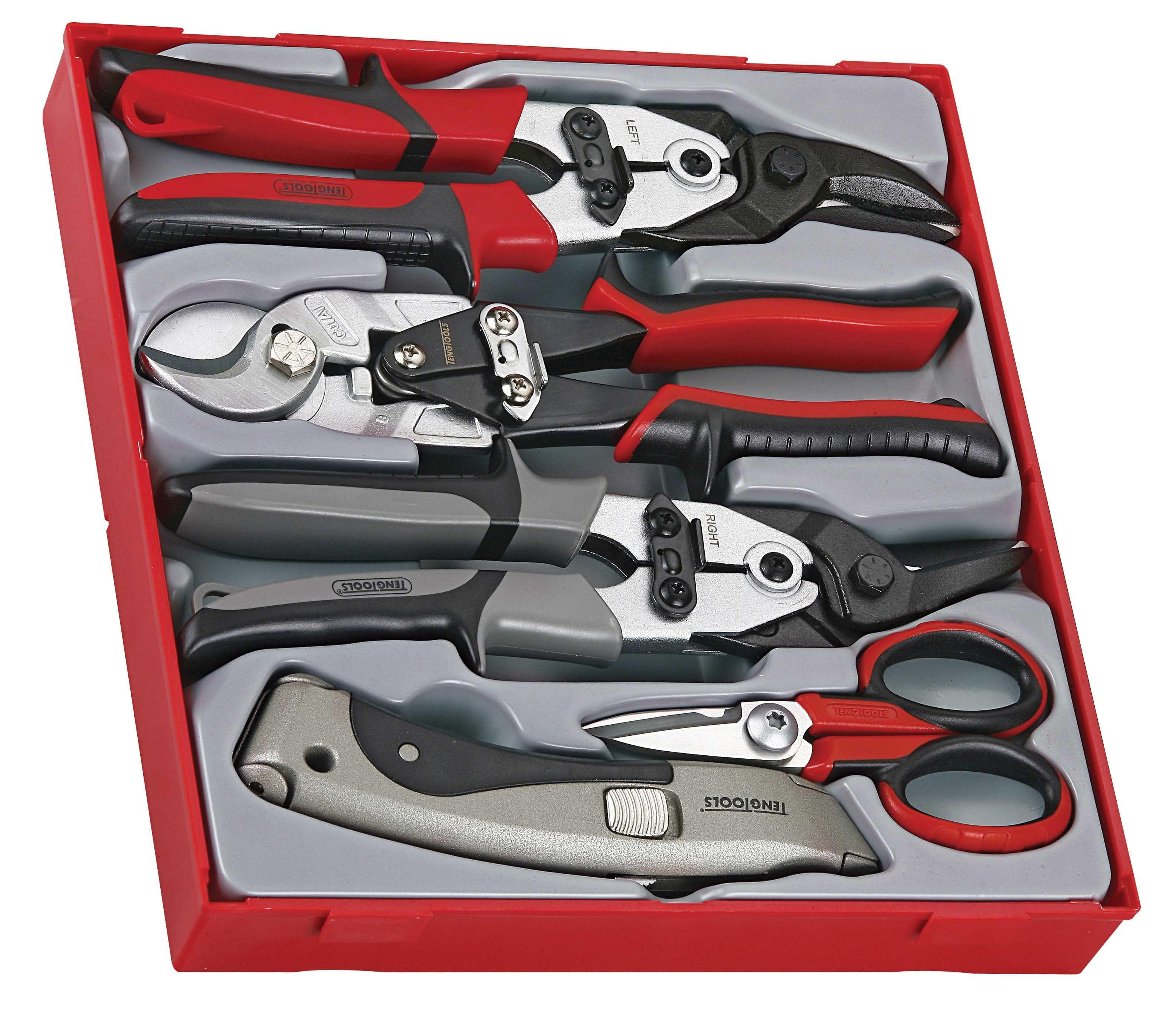 Teng Tools 5 Piece Cutting Tool Set
