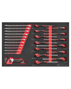 Teng Tools EVA 1000v Screwdriver & Spanner Set 33 Piece