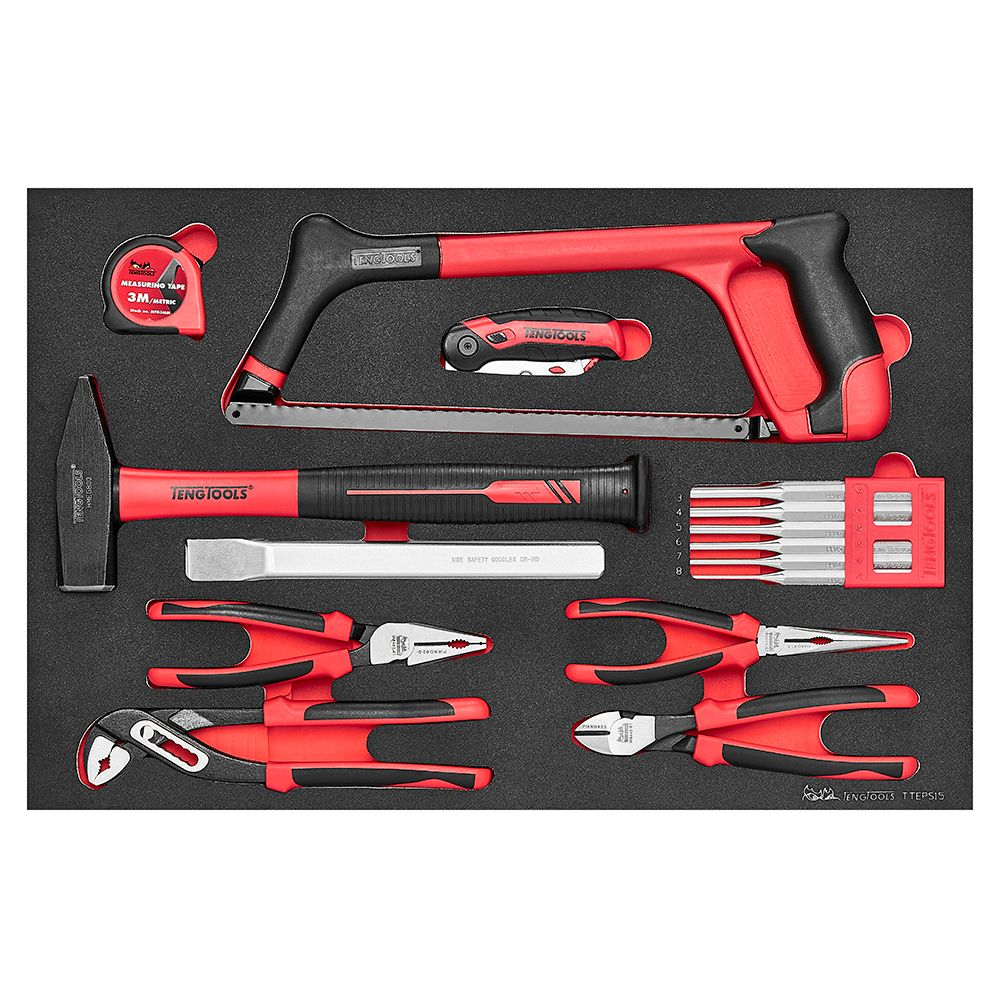 Teng Tools EVA General Tool Set 15 Piece