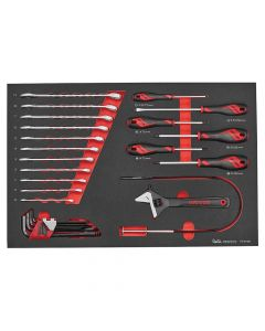 Teng Tools EVA Spanner & Screwdriver Set 28 Piece