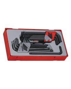 Teng Tools 28 Piece Metric / AF Hex & TX Key Set