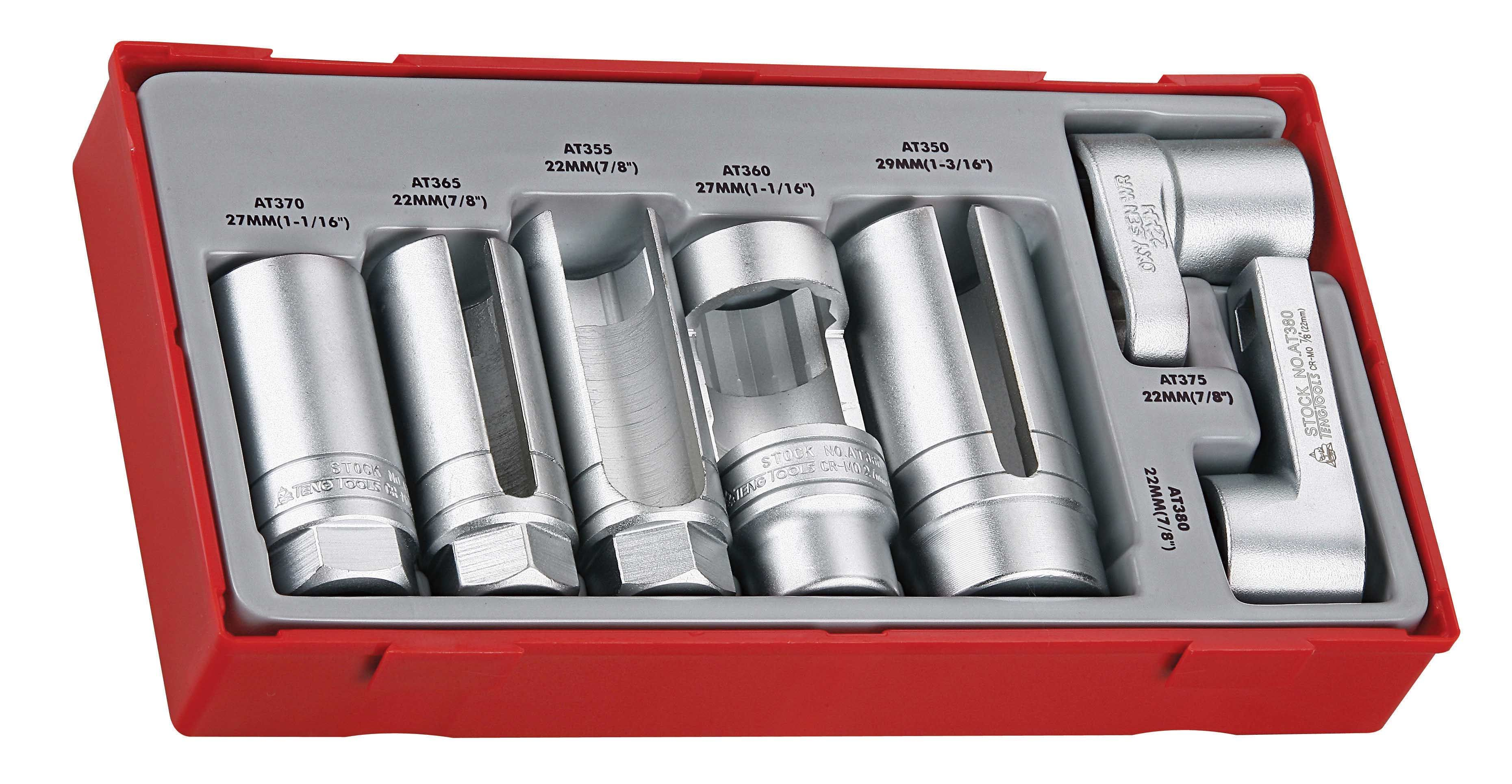 Teng Tools 7 Piece Specialist Socket Set